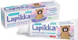 Lapikka Kids Зубная паста Молочный пудинг с кальцием, без фтора, паста зубная, 45 г, 1 шт.