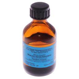 Вазелиновое масло, масло для приема внутрь, 40 мл, 1 шт.