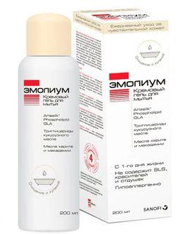 Эмолиум Кремовый гель для мытья, гель для тела, 200 мл, 1 шт.