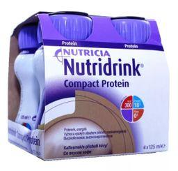 Nutridrink compact protein, жидкость для приема внутрь, со вкусом кофе, 125 мл, 4 шт.