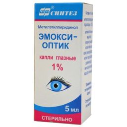 Эмокси-оптик, 1%, капли глазные, 5 мл, 1 шт.