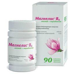 Магнелис В6, таблетки, покрытые оболочкой, 90 шт.