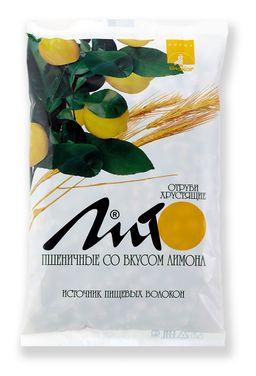 Отруби хрустящие сладкие Лито с кальцием со вкусом лимона, гранулы, 200 г, 1 шт.