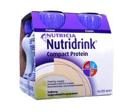 Nutridrink compact protein, жидкость для приема внутрь, со вкусом ванили, 125 мл, 4 шт.