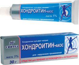 Хондроитин-АКОС, 5%, мазь для наружного применения, 30 г, 1 шт.