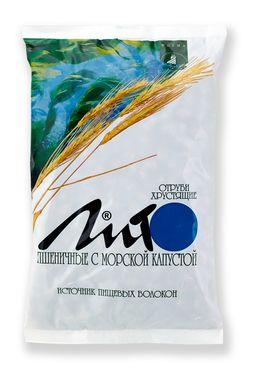 Отруби пшеничные хрустящие Лито с кальцием и морской капустой, гранулы, 200 г, 1 шт.