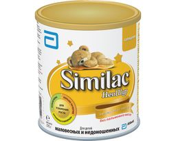 Similac НеоШур, смесь молочная сухая, для детей от 0 до 6 месяцев, 370 г, 1 шт.