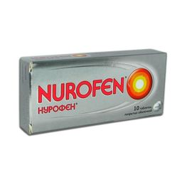 Нурофен, 200 мг, таблетки, покрытые оболочкой, 10 шт.