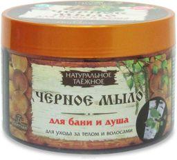 Floresan Черное мыло таежное для тела и волос, формула 37, 450 г, 1 шт.