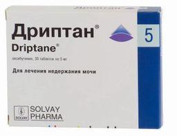 Дриптан, 5 мг, таблетки, 30 шт.