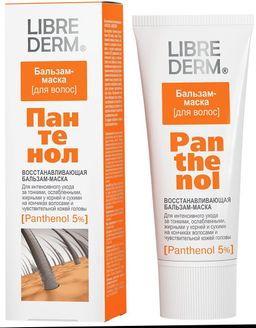 Librederm Пантенол Бальзам-маска восстанавливающая, бальзам для волос, 200 мл, 1 шт.