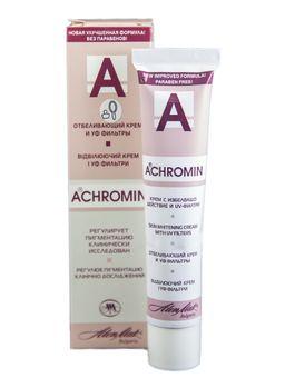 Ахромин крем отбеливающий c УФ фильтрами, 45 мл, 1 шт.