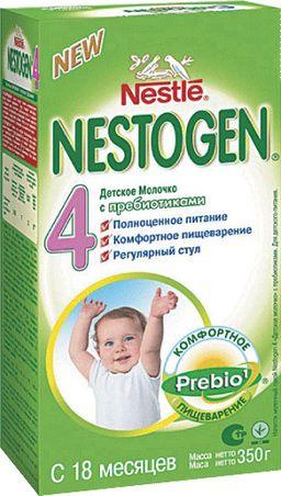 Nestogen 4 с пребиотиками, смесь молочная сухая, 350 г, 1 шт.