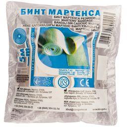 Бинт Мартенса резиновый, 5м, 1 шт.