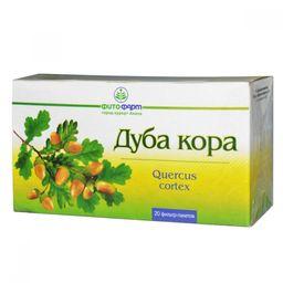 Дуба кора, сырье растительное-порошок, 1.5 г, 20 шт.