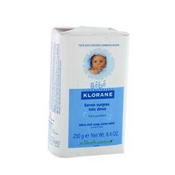 Klorane Bebe Детское мыло с экстрактом календулы, мыло детское, 250 г, 1 шт.