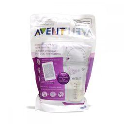 Avent Пакеты для сбора и хранения грудного молока, (80250) SCF603/25, 180 мл, 25 шт.