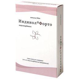 Индинол Форто, 200 мг, капсулы, 60 шт.