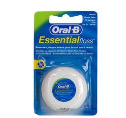 Oral-B Essential Floss Зубная нить вощеная, 50 м, мятная, 1 шт.