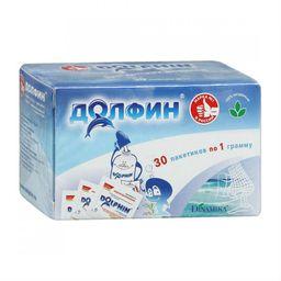 Долфин средство для промывания полости носа и горла, 1 г, 30 шт.