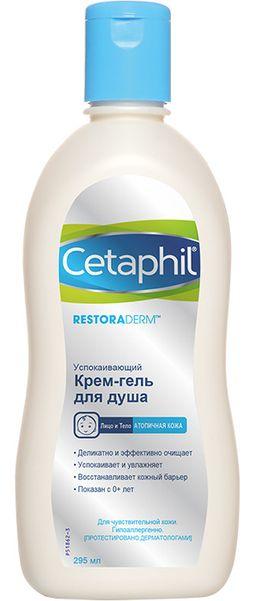 Cetaphil Restoraderm крем-гель для душа, 295 мл, 1 шт.