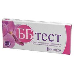 ББ тест Тест на беременность, тест-полоска, 1 шт.