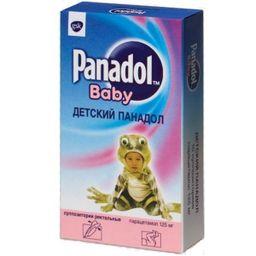 Детский Панадол, 125 мг, суппозитории ректальные для детей, 10 шт.