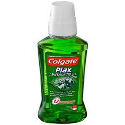 Colgate Plax Ополаскиватель для полости рта лечебные травы, раствор для полоскания полости рта, 250 мл, 1 шт.