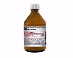 Циндол, 12.5%, суспензия для наружного применения, 125 г, 1 шт.