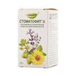 Стоматофит А, экстракт для местного применения жидкий, 25 г, 1 шт.