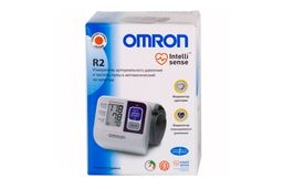 Тонометр автоматический OMRON R2 на запястье, 1 шт.