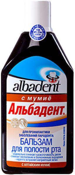 Альбадент бальзам с мумие, бальзам для полости рта, 400 мл, 1 шт.