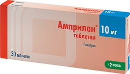 Амприлан, 10 мг, таблетки, 30 шт.