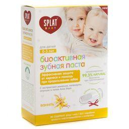 Splat Baby Зубная паста для детей 0-3 лет, з/щетка напальчник, ваниль, 1 шт.