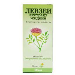 Левзеи экстракт жидкий, экстракт жидкий для приема внутрь, 50 мл, 1 шт.