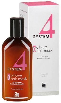System 4 Терапевтическая пилинговая маска О, маска для волос, 100 мл, 1 шт.
