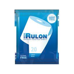 Бумага туалетная влажная MON RULON, 20 шт.